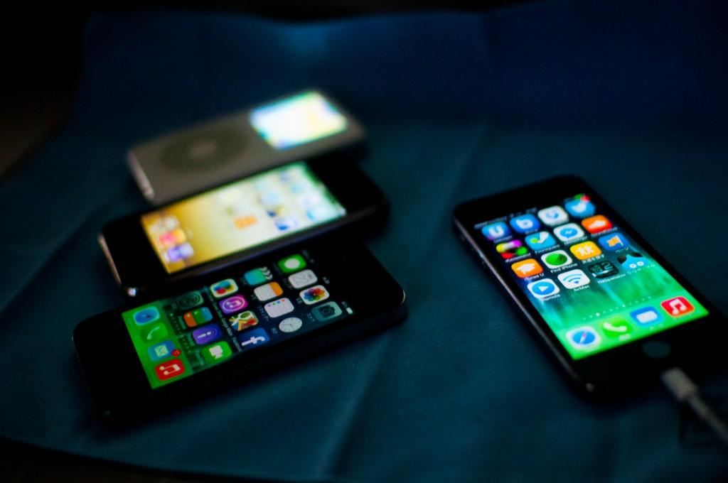 三つ目のiPhone