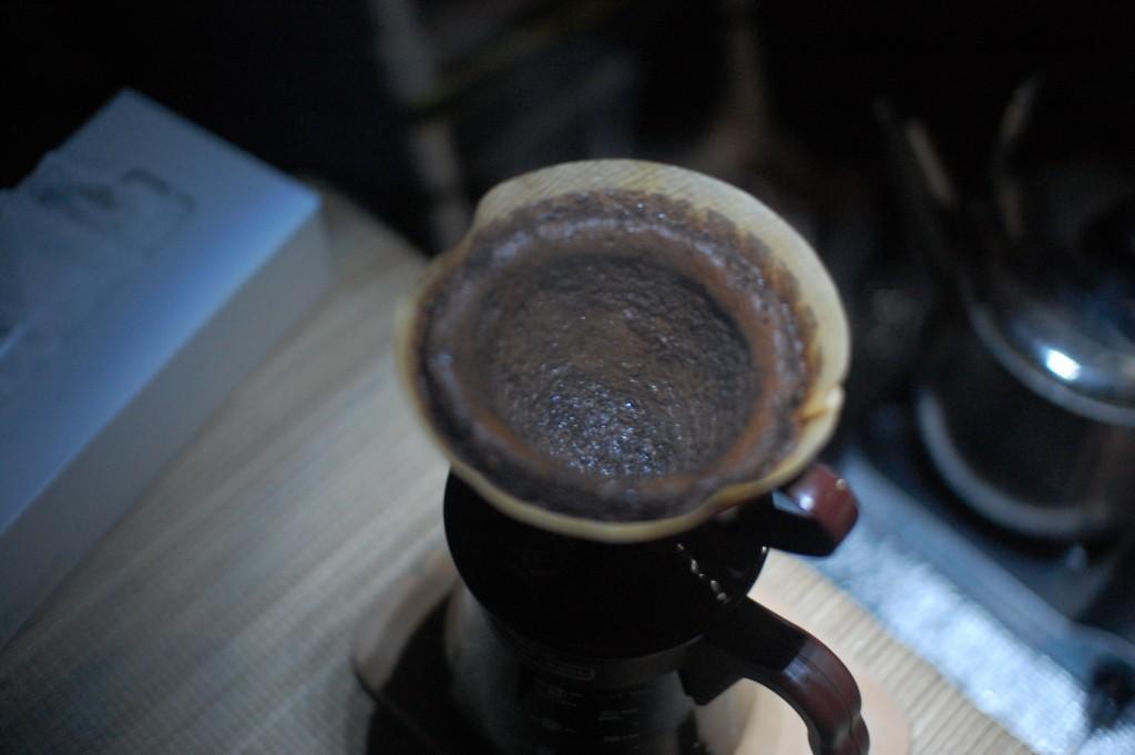 1日分のコーヒーを入れちゃいます
