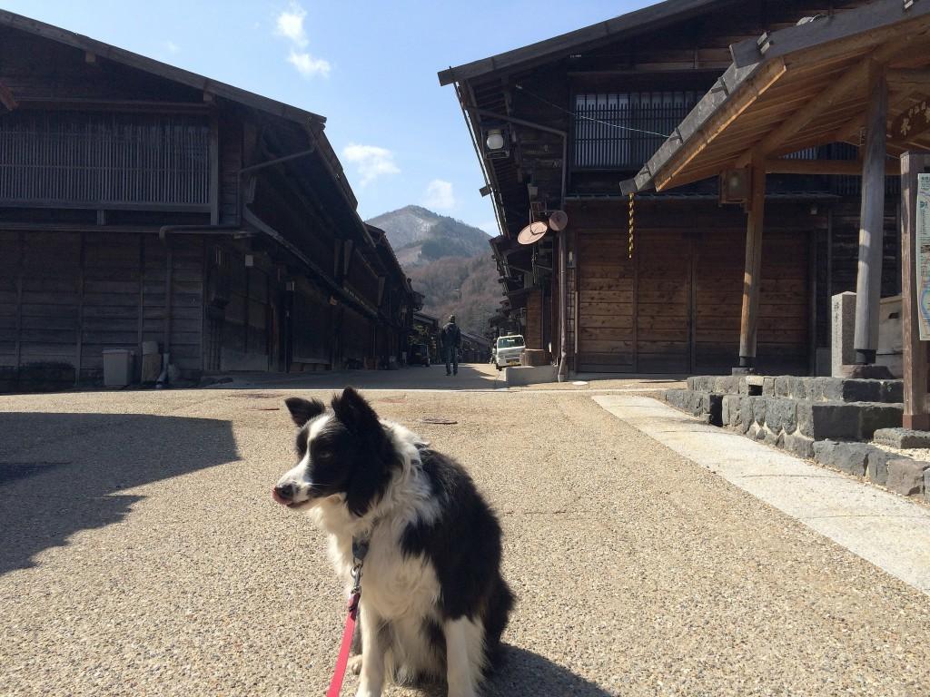 奈良井宿は素敵